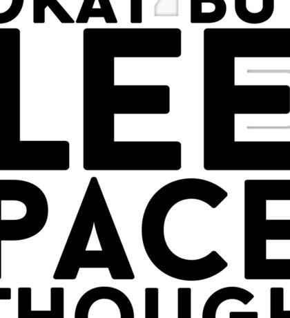 Lee Pace Sticker