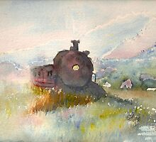 Old Train by Blended