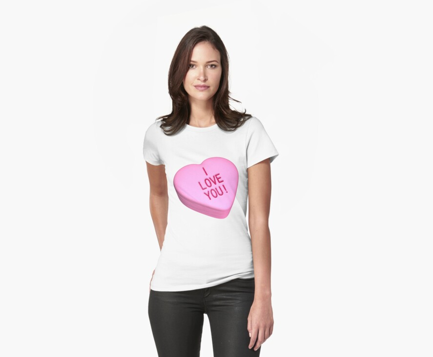 """""""Love you"""" candy heart by bmgdesigns"""
