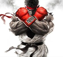 Ryu Street Fighter by Scalpedmonkey