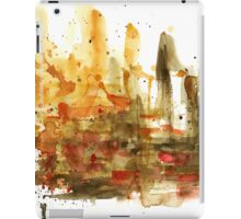 Watercolor abstract composition iPad Case/Skin