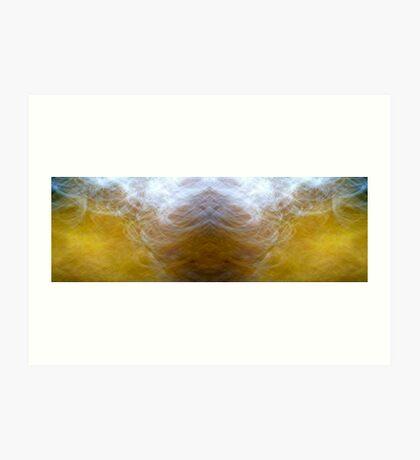 Yello.Blu Art Print
