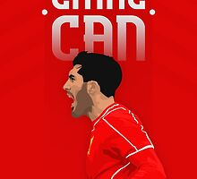 Emre Can Poster #1 by InspireSports