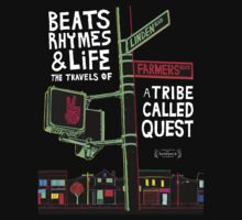 ATCQ BEATS RHYMES AND LIFES TRIBE CALLED QUEST by madmadmadmad