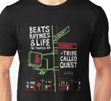 ATCQ BEATS RHYMES AND LIFES TRIBE CALLED QUEST Unisex T-Shirt
