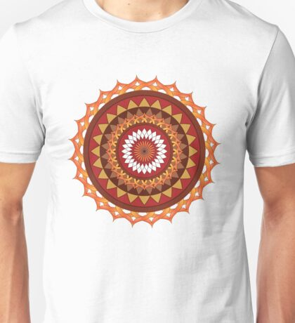 Red and yellow ornament Unisex T-Shirt