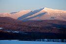 Sunset, Mount Mansfield, Minus 10 Degrees by Stephen Beattie