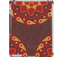 Red and yellow ornament 2 iPad Case/Skin