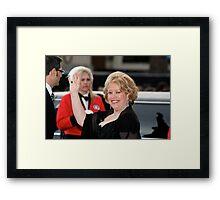 Kathy Bates Framed Print