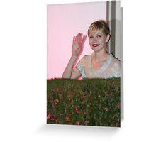 Kirsten Dunst Greeting Card
