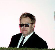 Elton John Photographic Print