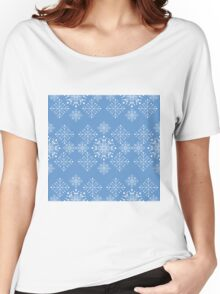 Snowflakes ornament Women's Relaxed Fit T-Shirt
