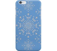 Snowflakes ornament 2 iPhone Case/Skin