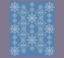 Snowflakes ornament 3 Kids Tee