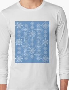 Snowflakes ornament 3 Long Sleeve T-Shirt