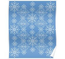 Snowflakes ornament 3 Poster