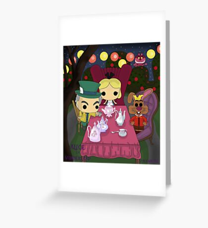 Mad Tea Party Greeting Card