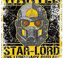 WANTED STAR-LORD by pakozoic