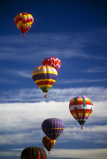 Cascoly › portfolio › hot air balloons against blue sky