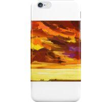 Turbulent Sky iPhone Case/Skin
