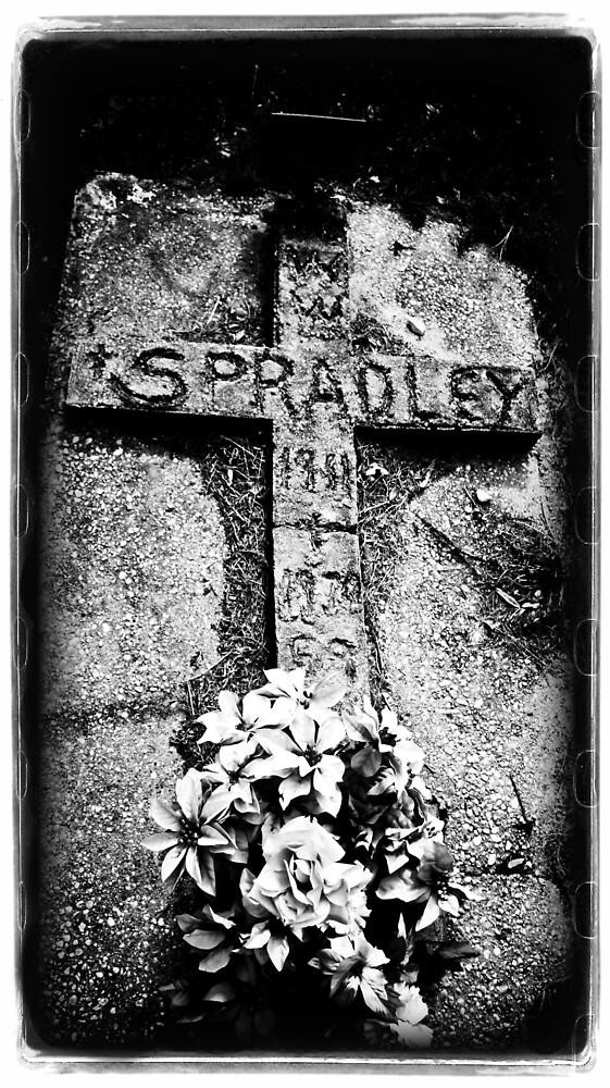 Cemetary Cross by lorispradley