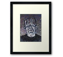 Frankenstein Framed Print