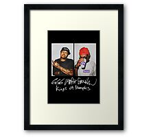 666 Mafia for Supreme Media Cases, Pillows, and More. Framed Print