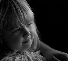 Comfort in Mums Arms by Brad Holton