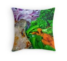 Healthy Eats Throw Pillow