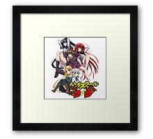 Highschool DxD  Framed Print