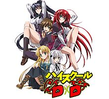 Highschool DxD  Photographic Print