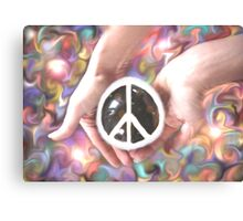 It's in our hands... Canvas Print