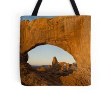 Turret through North Window Tote Bag