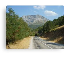 Spil Mountain Canvas Print
