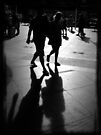 Shadows at Circular Quay by Paul Todd