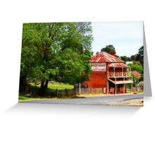 General Store Orton Effect Greeting Card