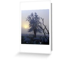 Freezing fog # 2 Greeting Card
