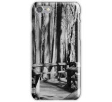 Boardwalk in the Swamp iPhone Case/Skin