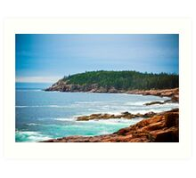 Bar Harbor  Art Print