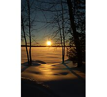 Unity Lake Photographic Print