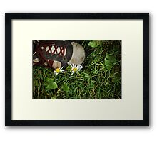 Let Me Live Framed Print