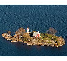 Crossover Island Light Photographic Print