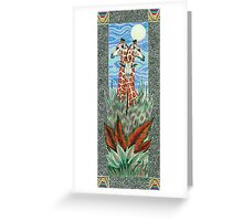 Strength In Numbers Greeting Card