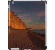 East Cliff Sunset Dorset iPad Case/Skin