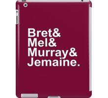 Bret & Mel & Murray & Jemaine iPad Case/Skin
