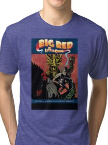 Hellboy/Big Trouble in Little China Mashup Tri-blend T-Shirt