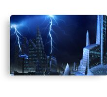 Brighter Shade of Blue Canvas Print