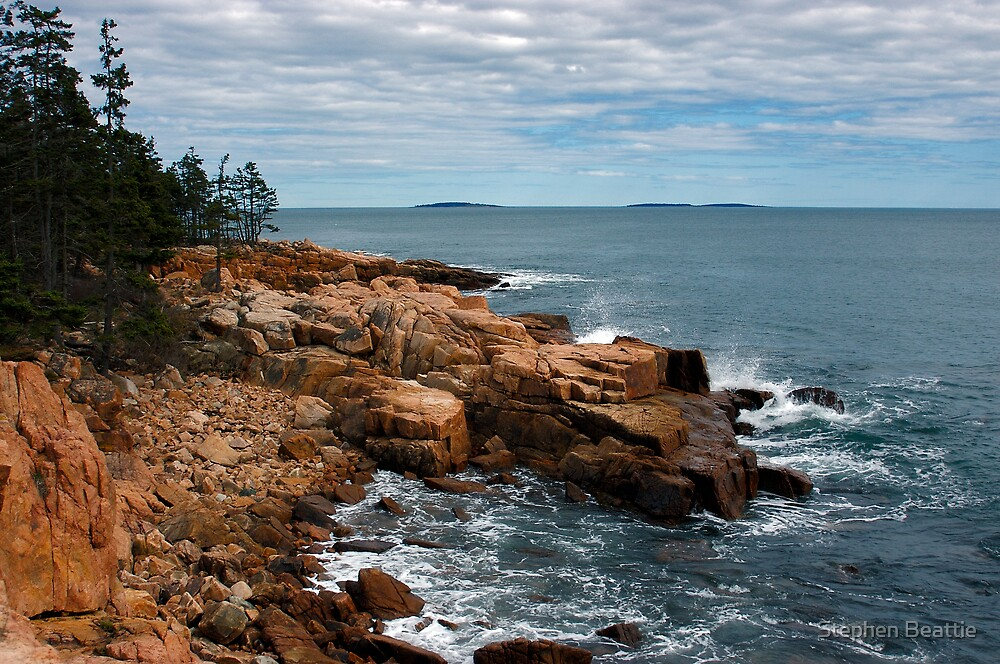 Near Ship Harbor, Acadia National Park, Maine by Stephen Beattie