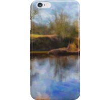 Natures Reflelctions Water Colour iPhone Case/Skin