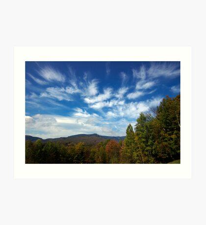 Mount Mansfield Sky Art Print